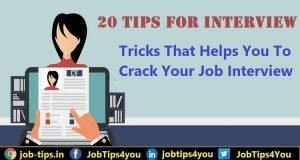 20 Best Job Interview Tips