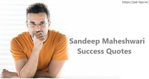 Sandeep Maheshwari Success