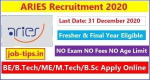 ARIES Recruitment 2020