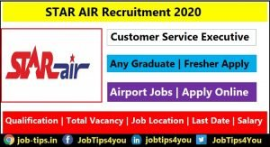 STAR AIR Recruitment 2020