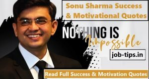 Sonu Sharma Success & Motivational Quotes