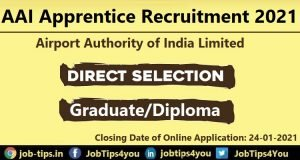 Airport Authority of India Recruitment 2021