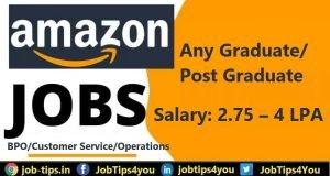Amazon Job 2021