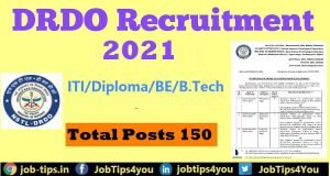 DRDO Apprentice Job 2021
