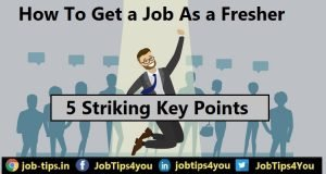 How to Get a Job as a Fresher