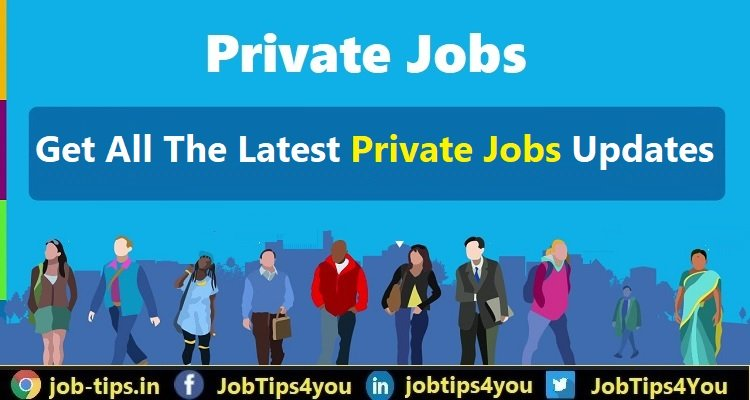 Latest Private Jobs 2021
