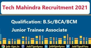Tech Mahindra Job 2021
