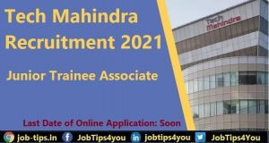 Tech Mahindra Recruitment 2021