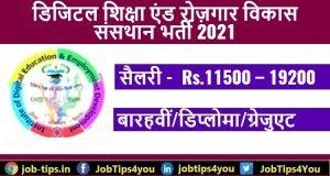 DSRVS Job 2021