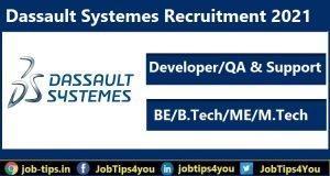 Dassault System, Dassault System Off Campus 2021, Dassault Company Recruitment 2021, Support Jobs in Dassault System 2021, Developer Jobs in Dassault System 2021, Latest Jobs in Dassault Systems 2021