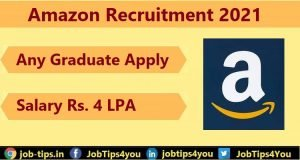 Amazon Job Update 2021