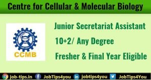 Centre for Cellular & Molecular Biology Job