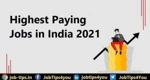 Top 5 Highest Paying Jobs in 2021
